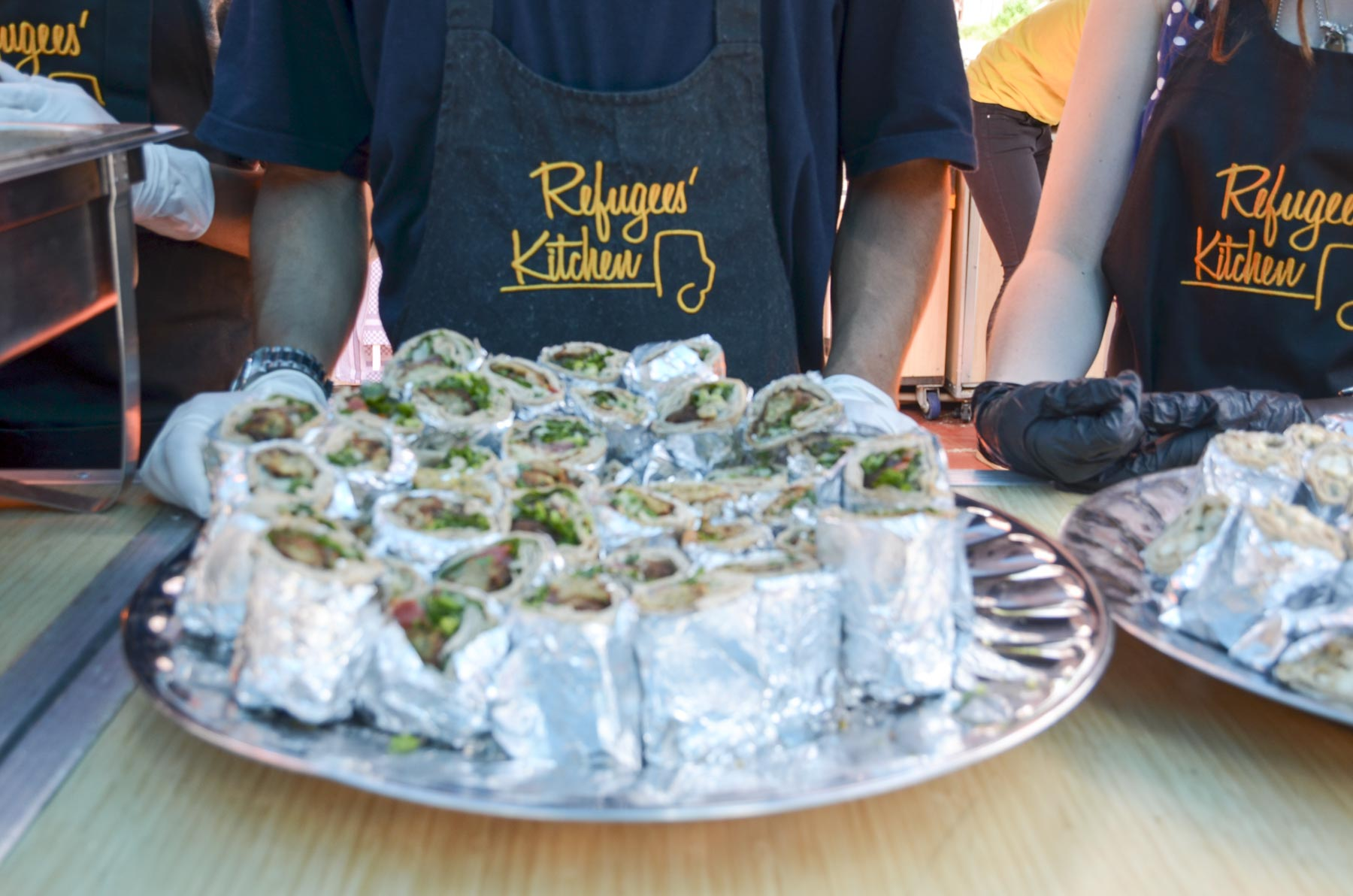 Refugees`Kitchen Falafel Shawarma
